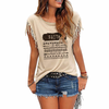 Faith Tassel T-shirt