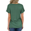 Cat Mom V-neck Pocket T-shirts