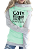 Cats Make Me Happy Hoodies