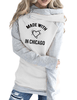 Made With Love In Chicago Hoodies
