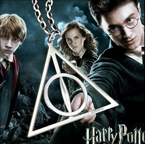 Deathly Hallows Triangle Necklaces