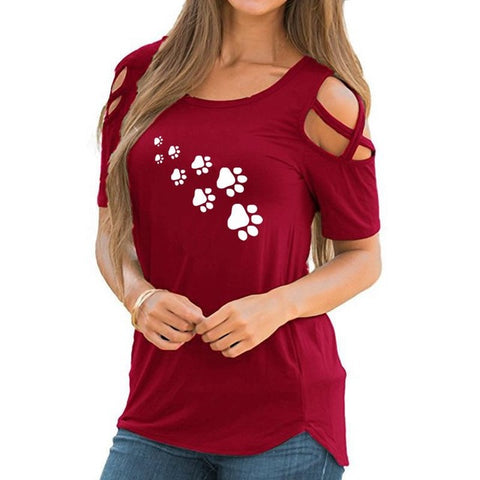 Cat Paws Summer T-shirt