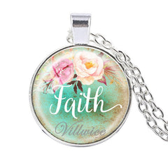Faith, Hope, Love & Dream Necklace