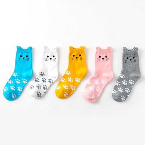 Cute Cat Paw Socks