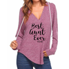 Best Aunt Ever V-neck Hoodies