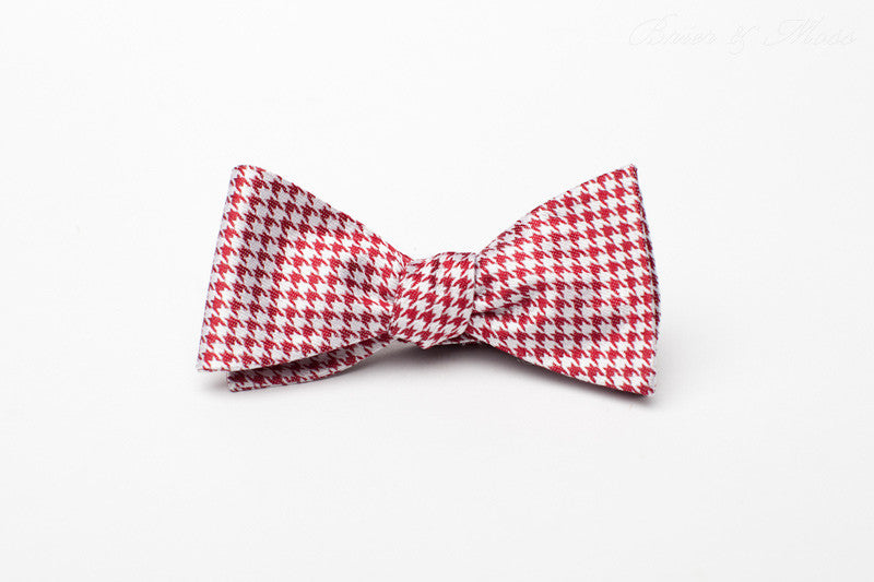 The Blakley Brier & Moss Bow Tie