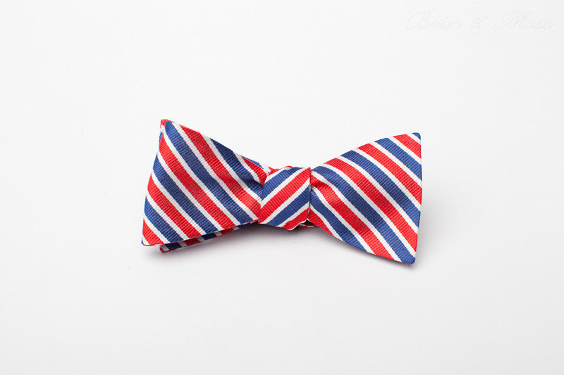 The Kensington Brier & Moss Bow Tie