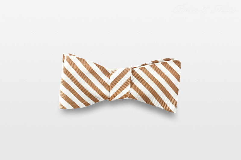 The Mondrian Brier & Moss Bow Tie