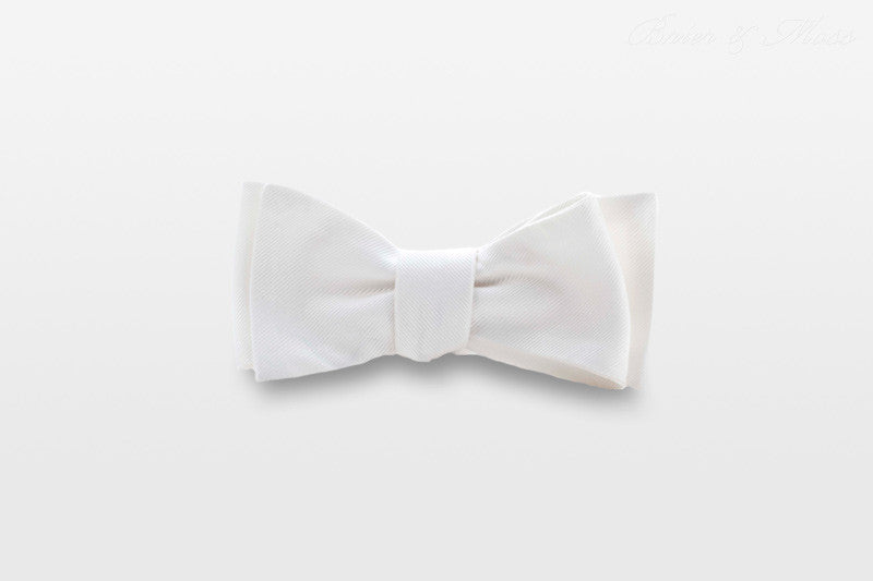 The Whytte Brier & Moss Bow Tie