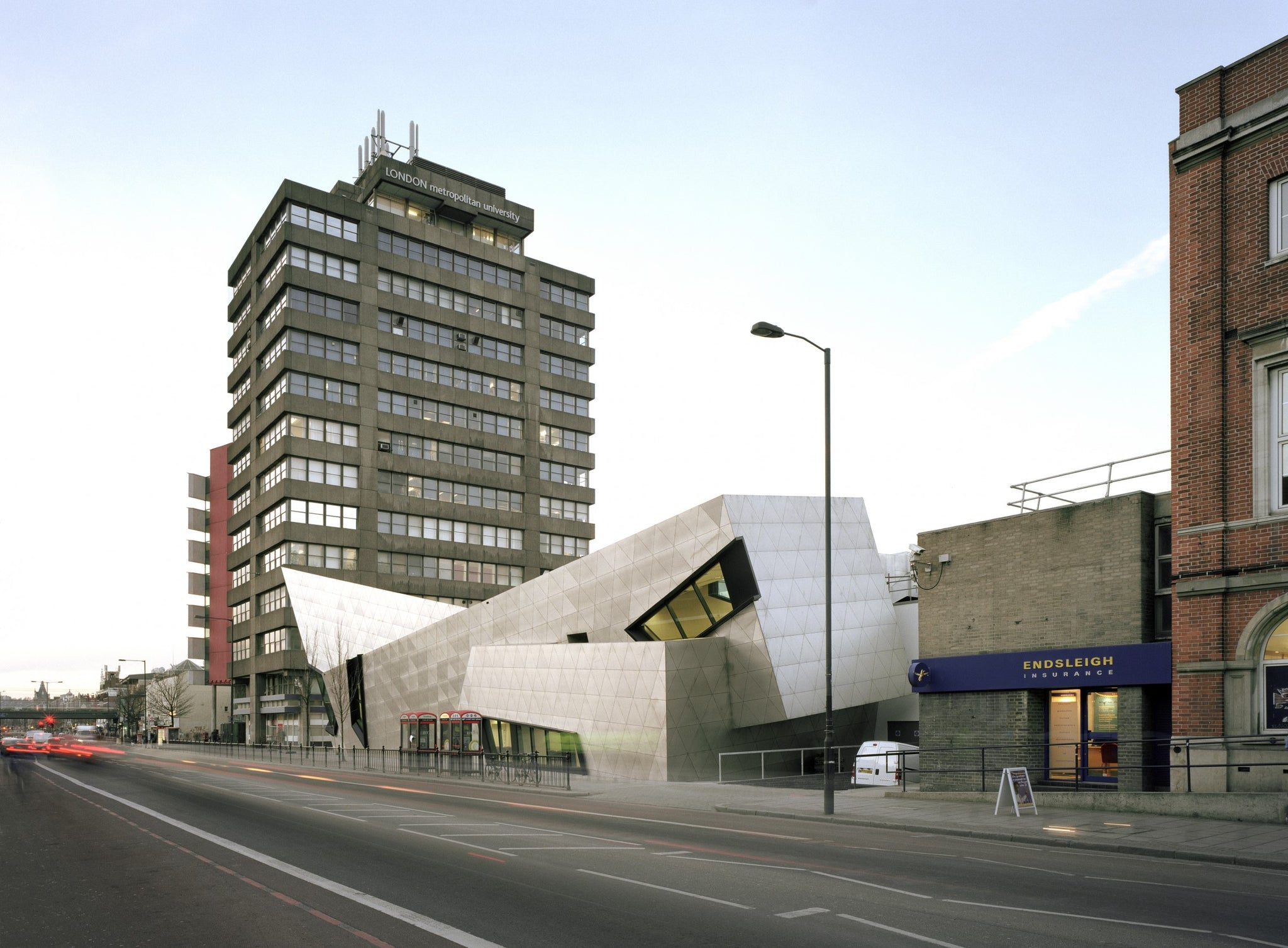 London Metropolitan University Graduate Centre by Daniel Libeskind