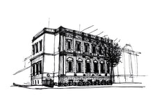 Load image into Gallery viewer, Banqueting House London Sketch Architectour Guide