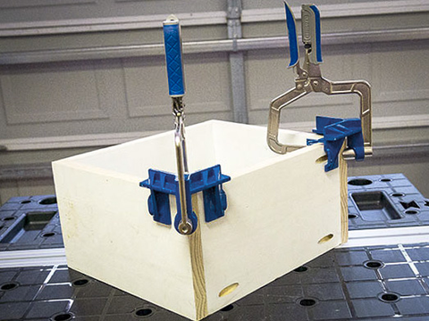 Object Boxes Holding Clamp