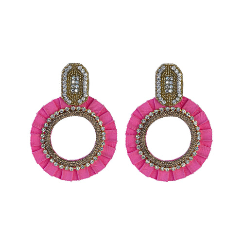 EVA PINK EARRINGS