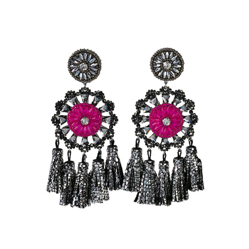 TALI PINK EARRINGS