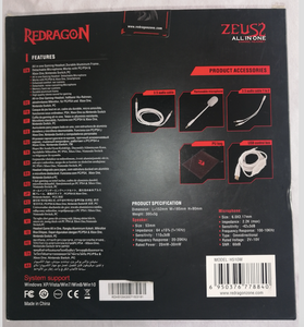 Redragon H510 Zeus 7.1 Wired Gaming Headset