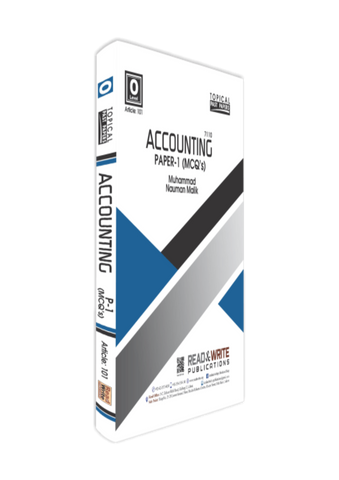Cambridge O-Level Accounting (7110) Paper-1 MCQ's R&W 101