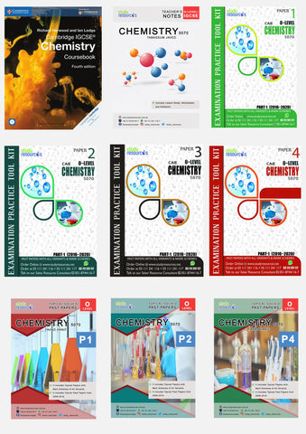 Cambridge O-Level Chemistry (5070) Exam Success Resource Bundle (CUSTOMIZABLE)