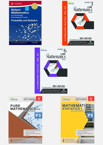 Cambridge A-Level Mathematics (9709) Exam Success Resource Bundle (CUSTOMIZABLE)