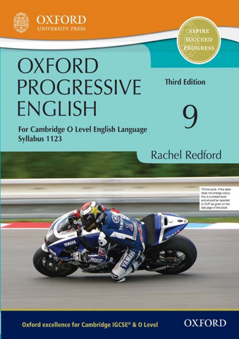 Cambridge O-Level Oxford Progressive English 9 3rd Edition (1123) Coursebook