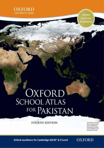 Cambridge O-Level Pakistan Studies (2059) Oxford School Atlas for Pakistan by OUP