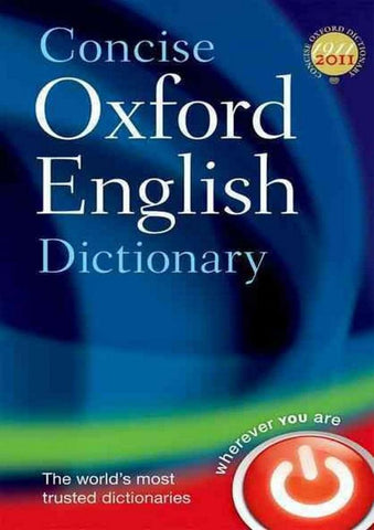 Concise Oxford English Dictionary (Twelfth Edition)