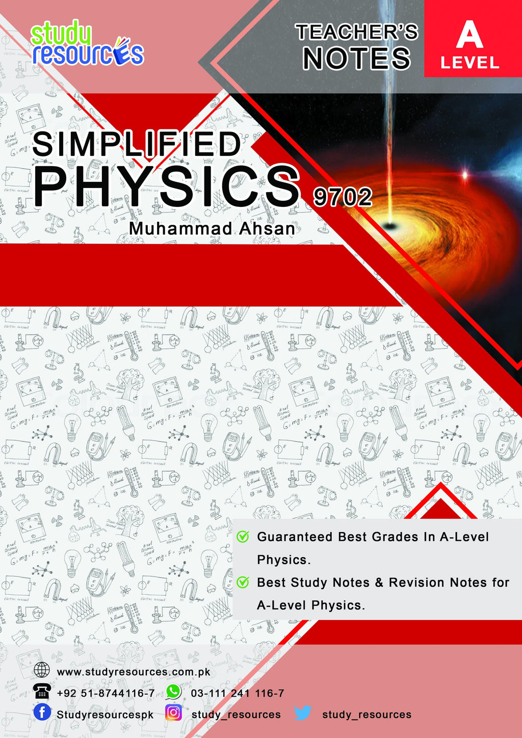 Cambridge Simplified Physics for A2-Level (9702) by Sir. Muhammad Ahsan
