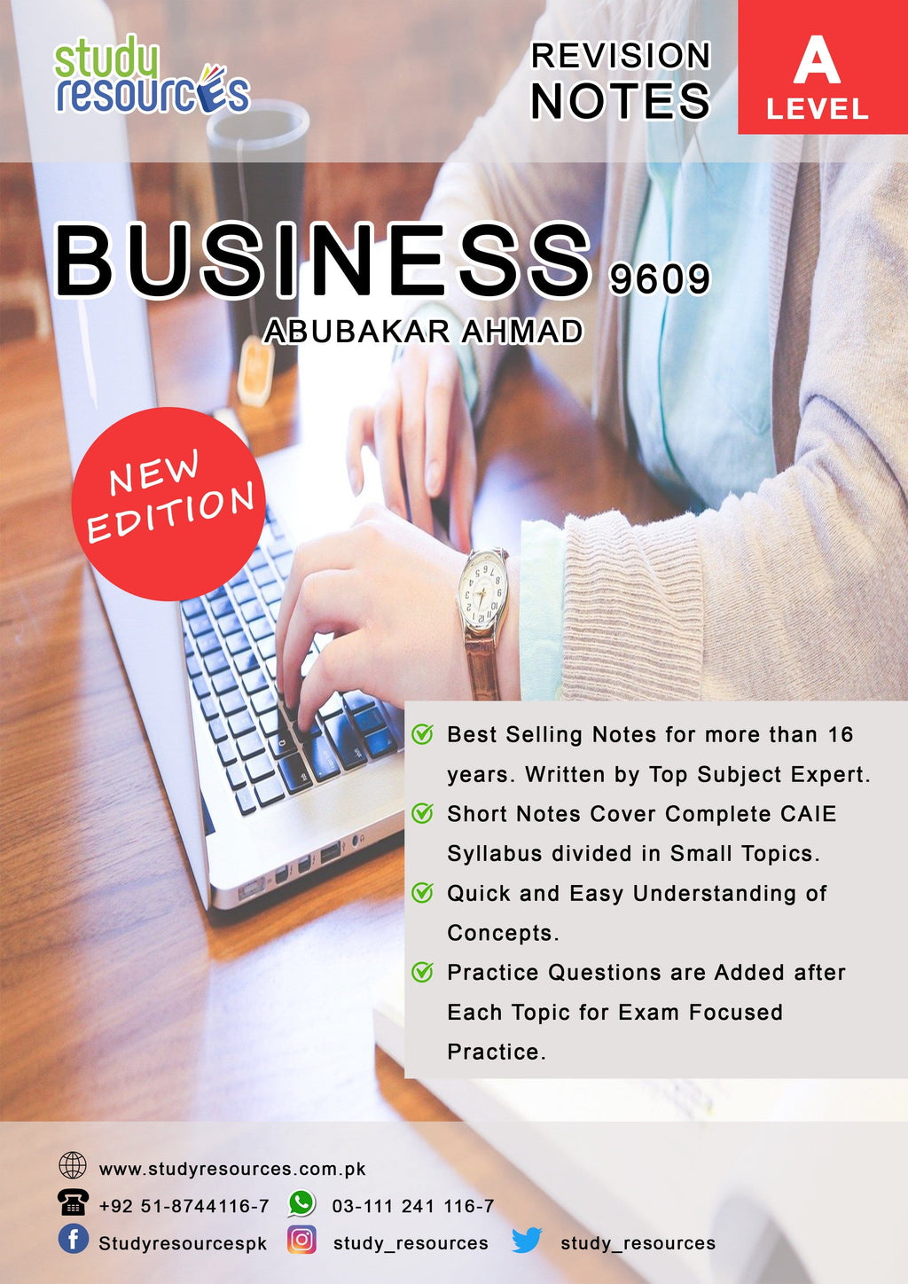 Cambridge A-Level Business (9609) Revision Guide by Sir. Abubakar Ahmad