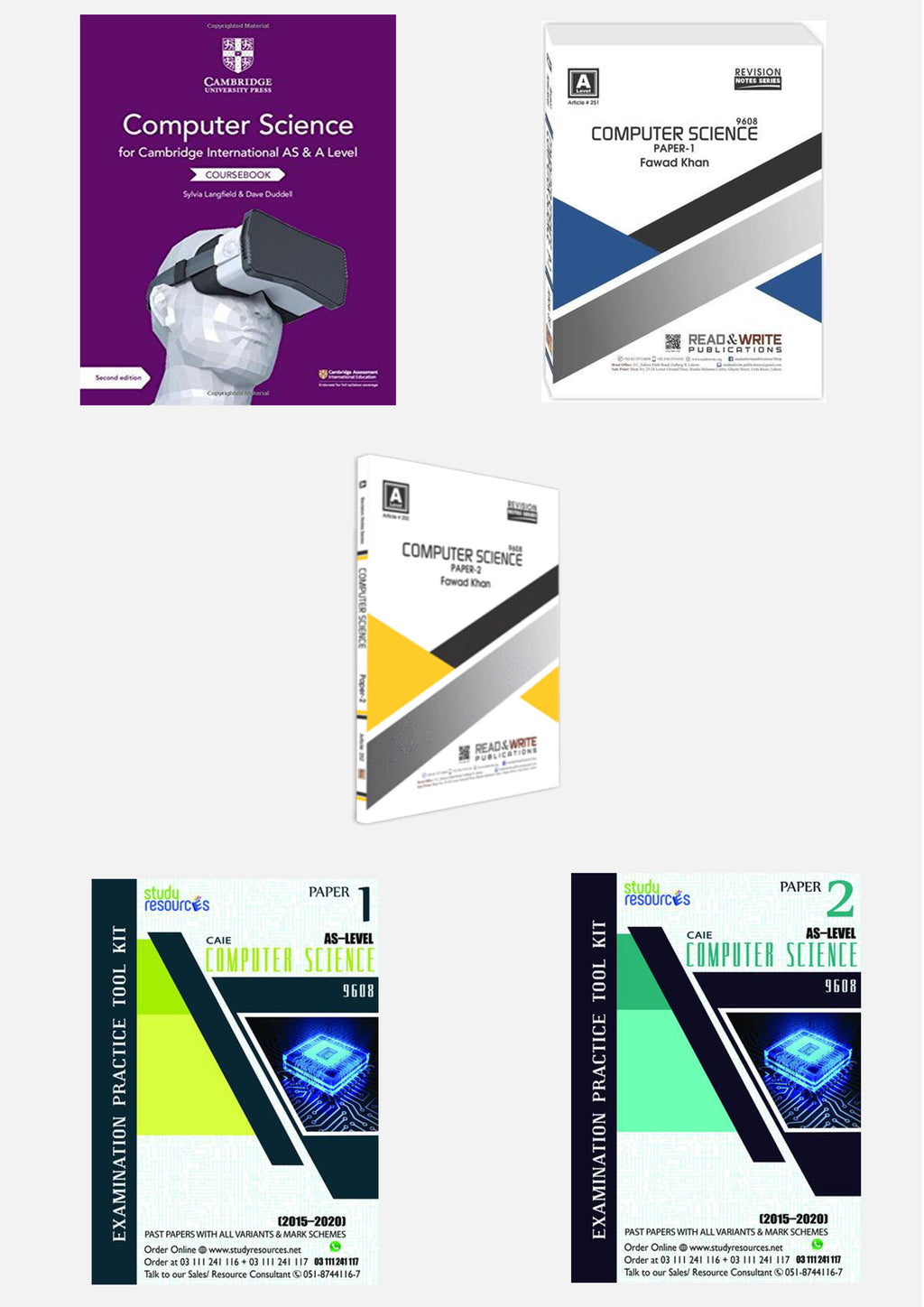 Cambridge AS-Level Computer Science (9608) Exam Success Resource Bundle (CUSTOMIZABLE)