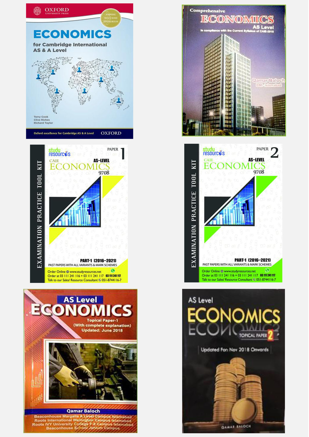 Cambridge AS Economics (9708) Exam Success Resource Bundle (CUSTOMIZABLE)