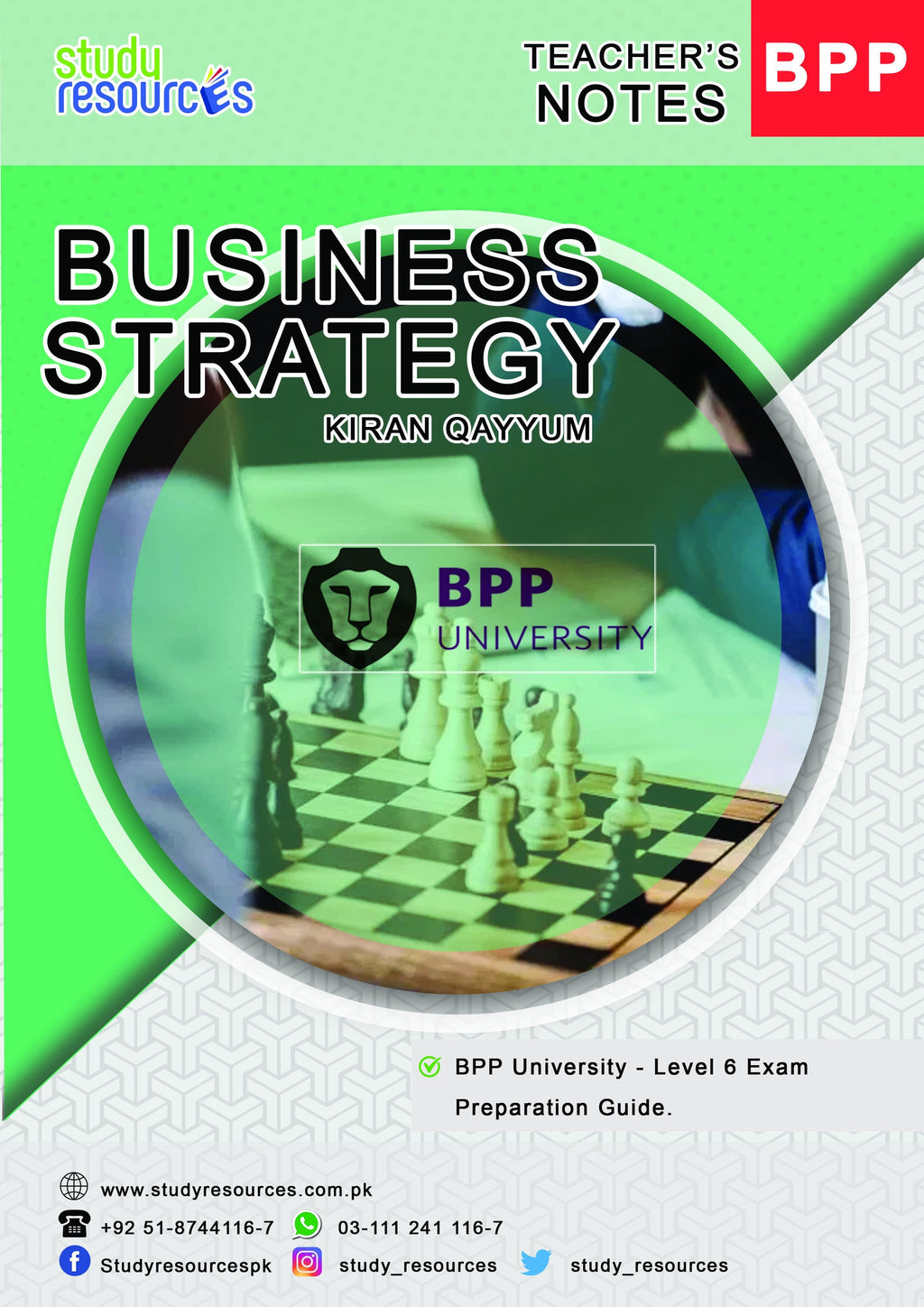 Business Strategy (Exam Preparation Guide) By Ma'am Kiran Qayyum