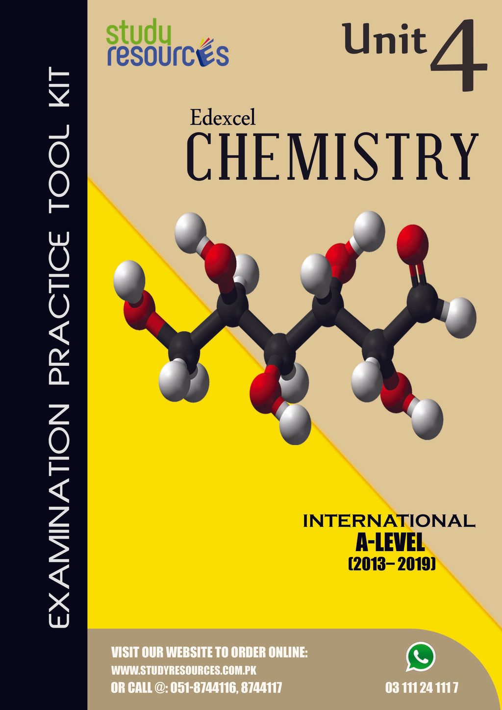 Edexcel A-Level Chemistry Unit-4 Past Papers (2013-2019)