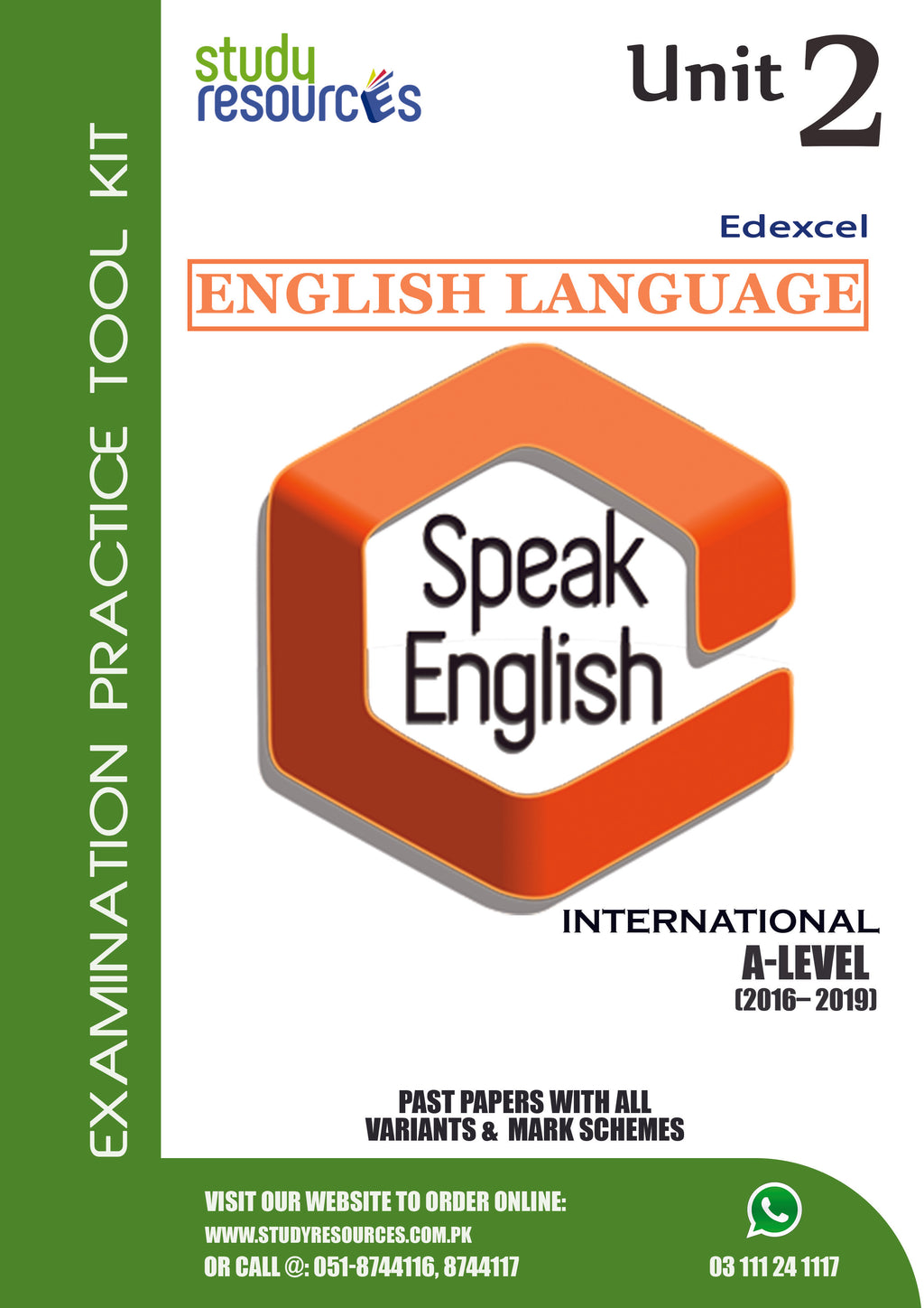 Edexcel A-Level English Language Unit-2 Past Papers (2016-2019)
