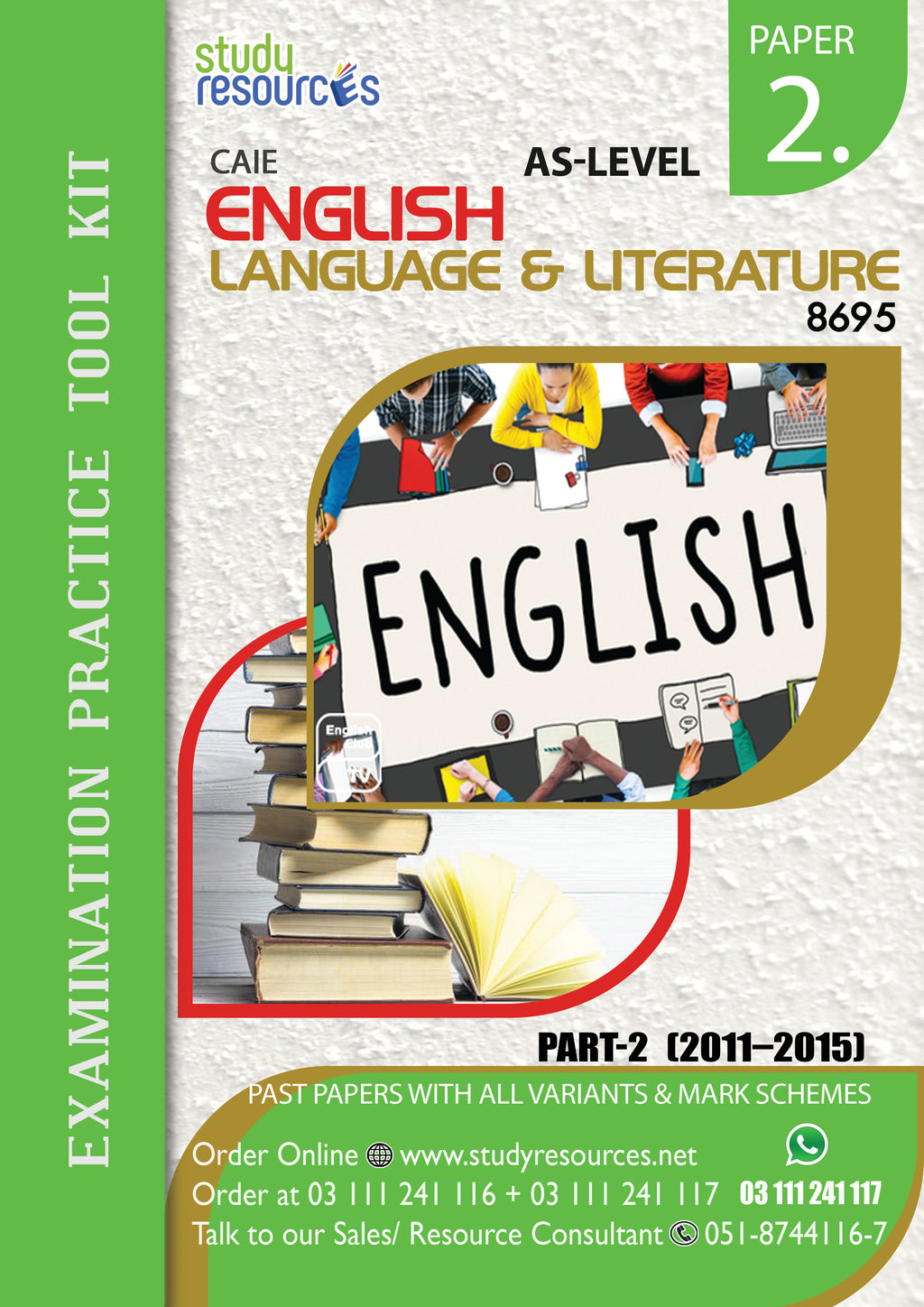 Cambridge AS-level English language and literature (8695) P-2 Past Paper Part-2 (2010-2014)