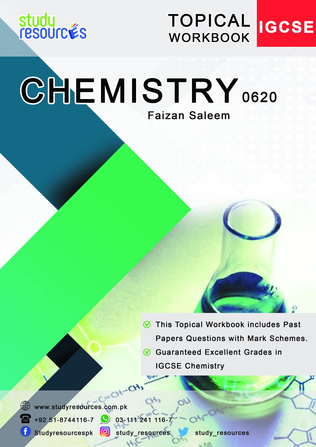 Cambridge IGCSE Chemistry (0620) Topical Workbook by Sir Faizan Saleem