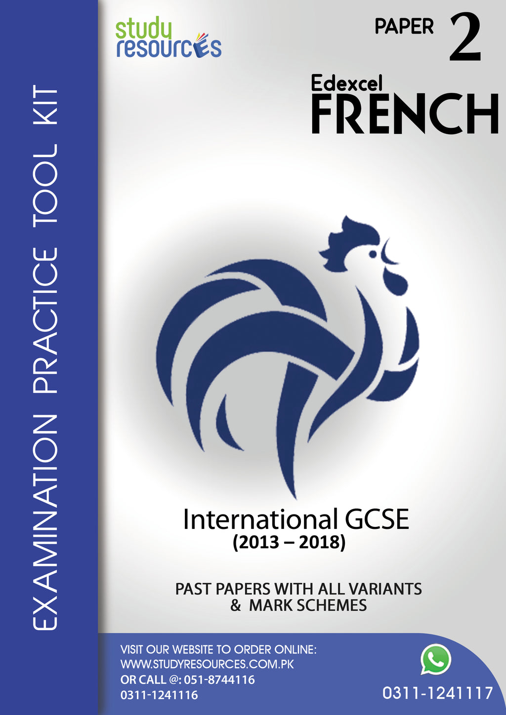 Edexcel IGCSE French P-2 Past Papers (2013-2018)