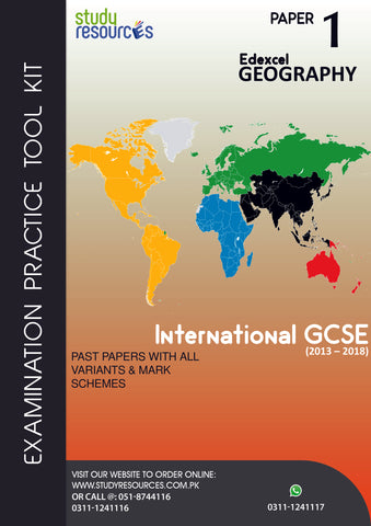 Edexcel IGCSE Geography P-1 Past Papers (2013-2018)