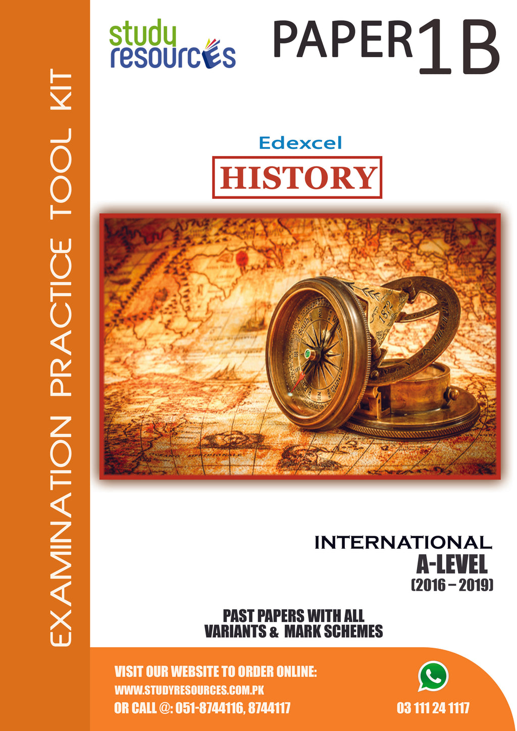 Edexcel A-Level History P-1B Past Papers (2016-2019)