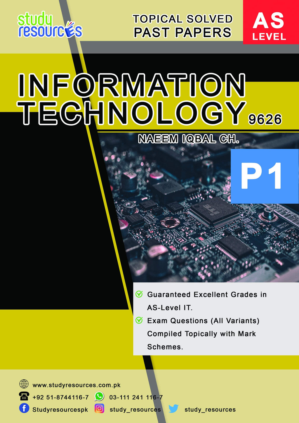 Cambridge AS-Level Information Technology (9626) Topical Paper-1 By Sir Naeem Iqbal Ch