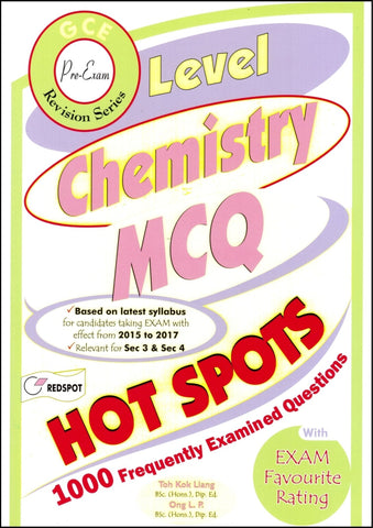 Cambridge O-Level Chemistry (5070) 1000 MCQ's RedSpot