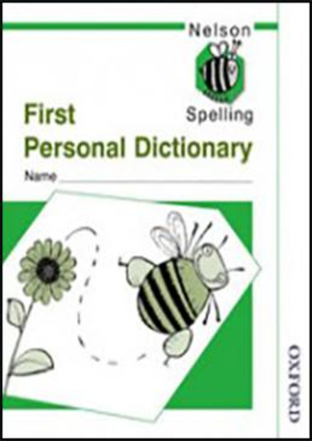Nelson Spelling First Personal Dictionary