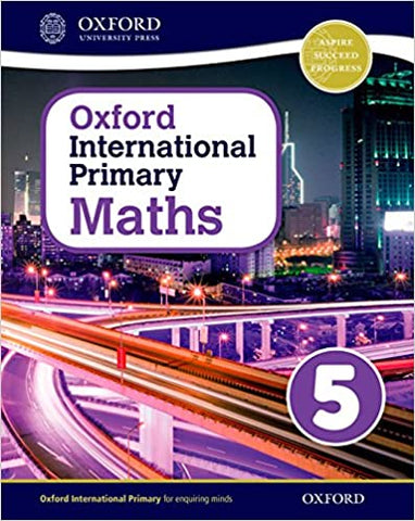 Oxford International Primary Maths – Book 5 (Textbook)