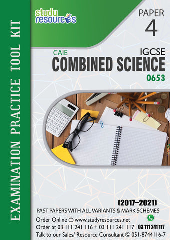 Cambridge IGCSE Combined Science (0653) P-4 Past Papers (2017-2020)
