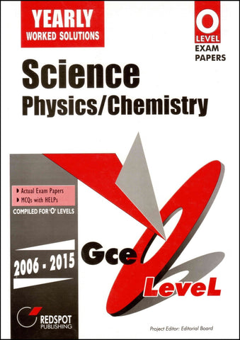 Cambridge O-Level Combined Sciences Physics/Chemistry (5129) Yearly RedSpot