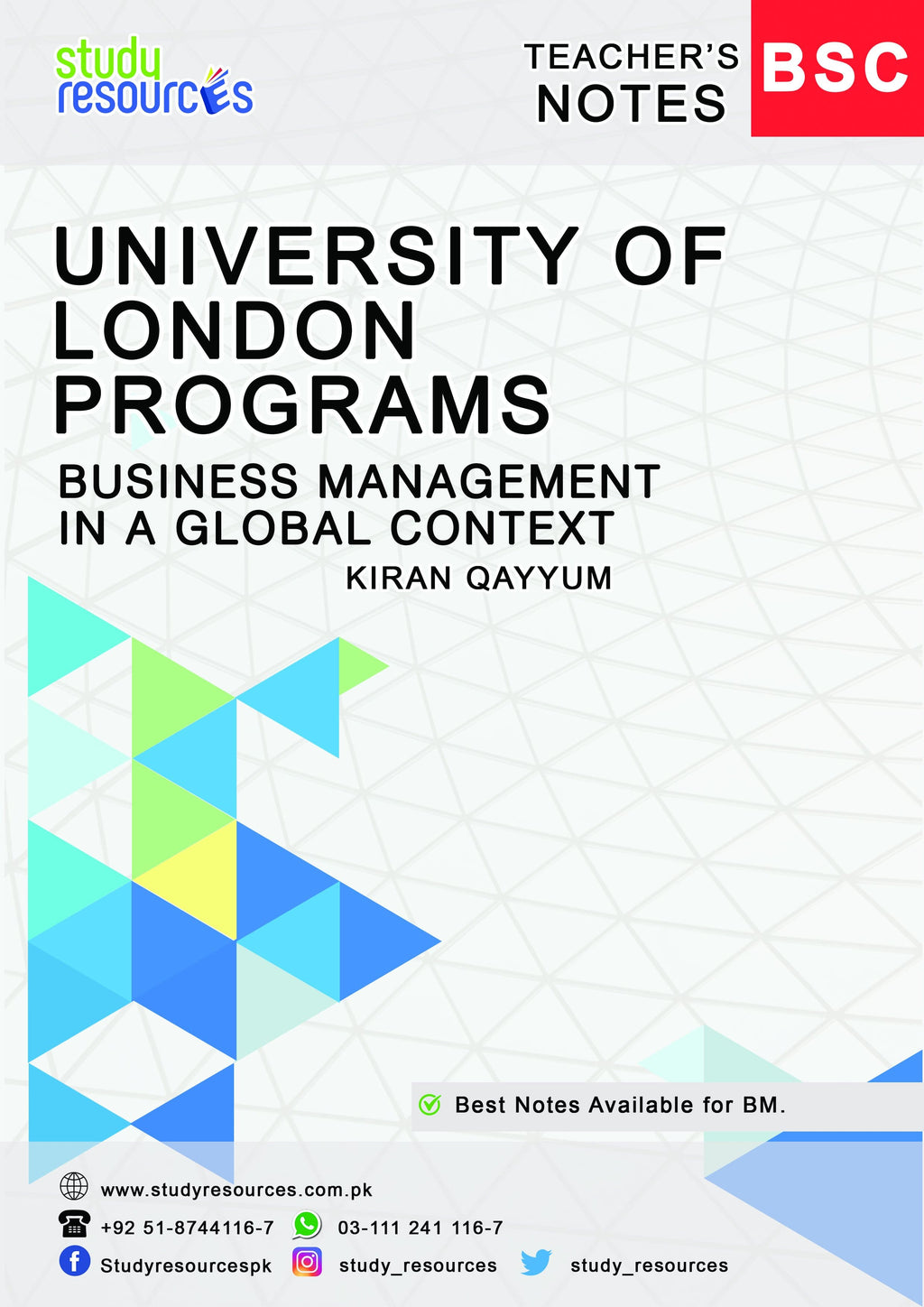 Business Management In a Global Context By Ma'am Kiran Qayyum