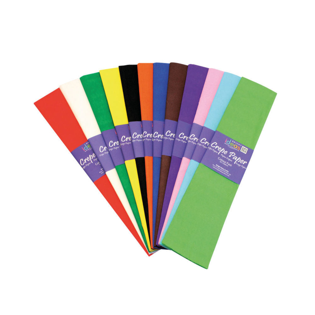 Crepe Paper (Pack of 10)