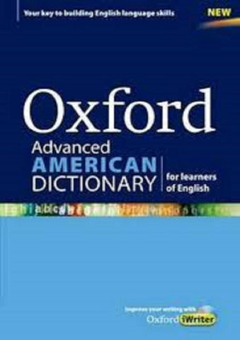 Oxford Advanced American Dictionary for Learners of English with CD-ROM