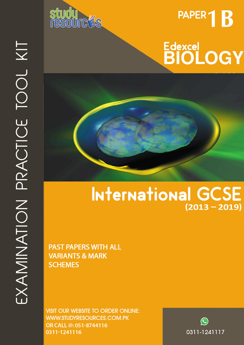 Edexcel IGCSE Biology P-1B Past Papers (2013-2019)