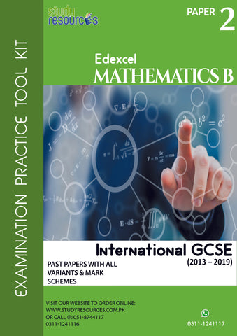 "Edexcel IGCSE Mathematics ""B"" Paper-2 Past Papers (2013-2019)"