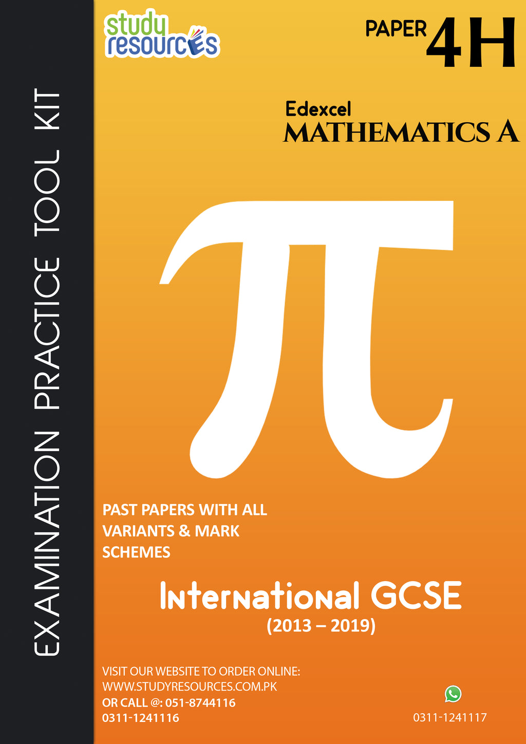 "Edexcel IGCSE Mathematics ""A"" Paper-4H Past Papers (2013-2019)"