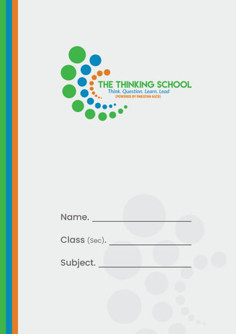 The Thinking School Four Lines Interleaf English Note Book